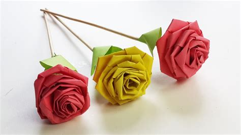 Roses Out Of Paper - how to make with paper quilling diy