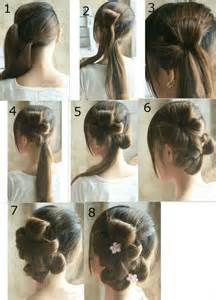 step to step hairstyles for medium hairs step by step prom hairstyles for long hair