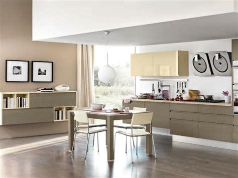 cuisine beige et marron 125 exemples de cuisines 233 quip 233 es ultra modernes partie 2