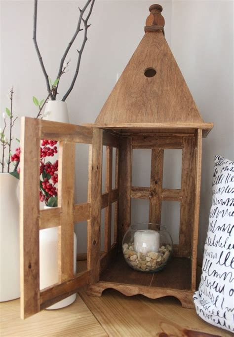 diy wooden lantern hometalk