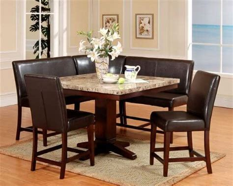 7 Piece Counter Height Dining Room Sets by 30 Space Saving Corner Breakfast Nook Furniture Sets Booths