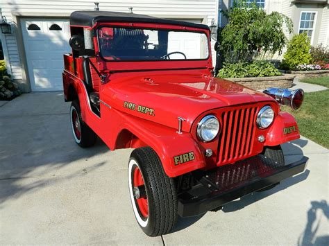 jeep fire truck 1958 willys jeep cj5 fire truck for sale