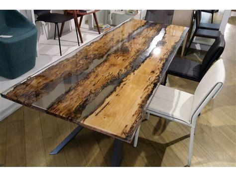 tavoli in resina per esterno tavoli tavolo spyder piano rovere vecchio e resina