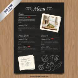 free menu template cmyk restaurant menu template vector free