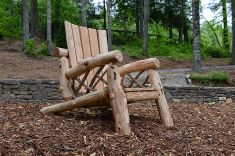 Rustic Outdoor Chairs by Rustic Outdoor Furniture Handmade By Appalachian Designs