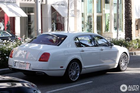 2010 bentley continental flying spur 2010 bentley continental flying spur speed photos