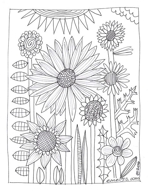 free coloring pages flower gardens i love my garden coloring page coloring page of flower