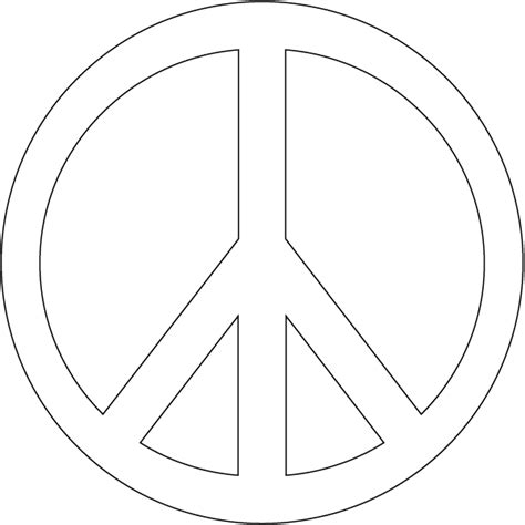 color for peace free coloring pages of peace sign hearts