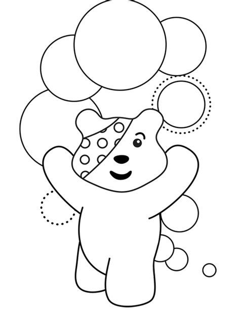 pudsey template printables pudsey colouring template classroom ideas