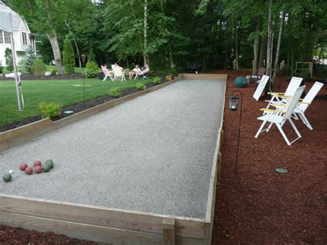 backyard bocce bocce ball court diy www pixshark com images galleries with a bite