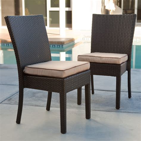 coral coast vallejo all weather wicker dining chair set