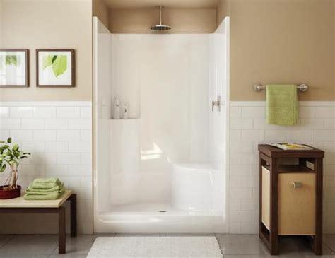 Shower Stalls Menards by Maax 174 Evergreen 1 Shower Rh Seat Center Drain