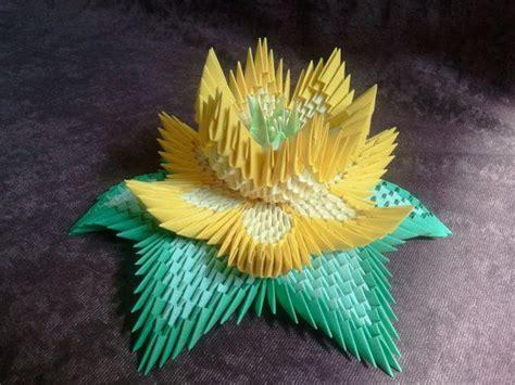 3d Origami Lotus - 3d origami lotus