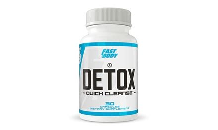 Groupon Detox Cleanse by Fast Cleanse 30ct Groupon Goods