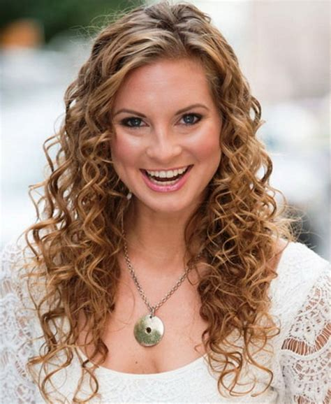 Easy Wavy Hairstyles by 60 Curly Hairstyles To Look Youthful Yet Flattering