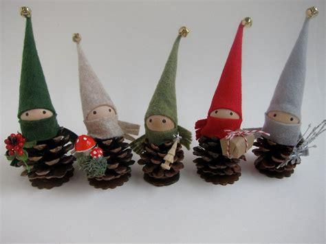 reserved  megan  pinecone elf ornaments