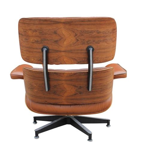 brown leather lounge chair modern eames rosewood light brown leather lounge chair at