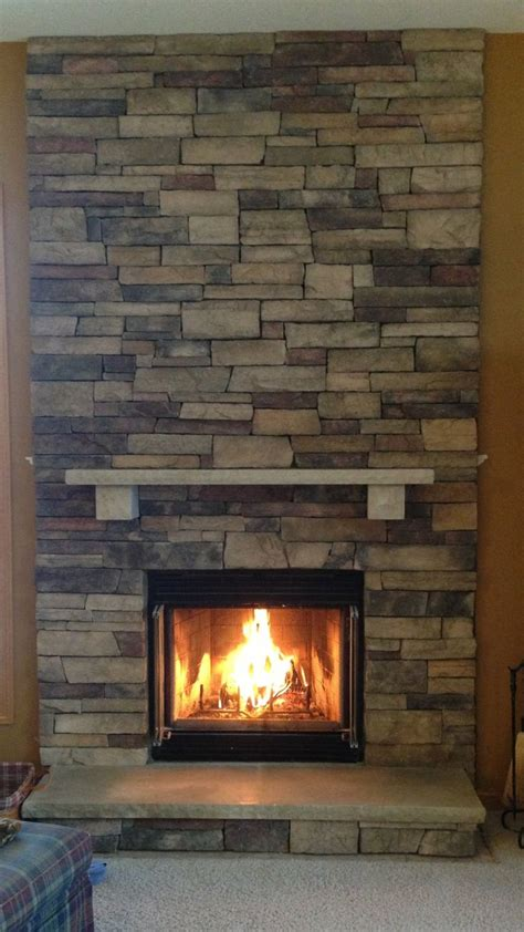 Cultured Fireplace Ideas by Boral Chardonnay Country Ledgestone Fireplace Stacked With