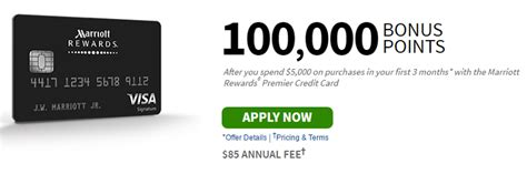 Marriot Mba Credit Requirement by Marriott Rewards Premier Credit Card Bonus Bank Deal