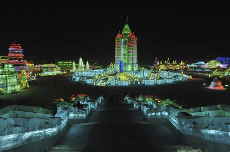 harbin ice festival harbin ice festival winter events in china student flights