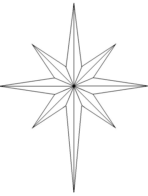 search results for christmas 8 point star template