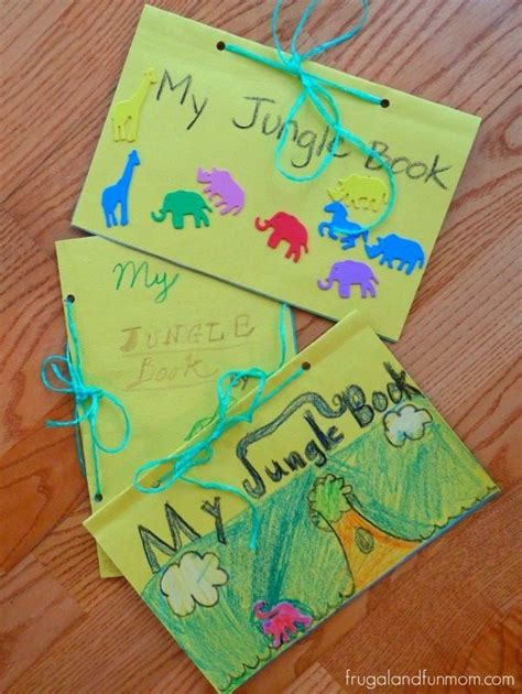 craft book for the jungle book craft kid friendly