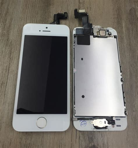 Lcd Iphone 5s Rusak for iphone 5s lcd display touch screen digitizer home