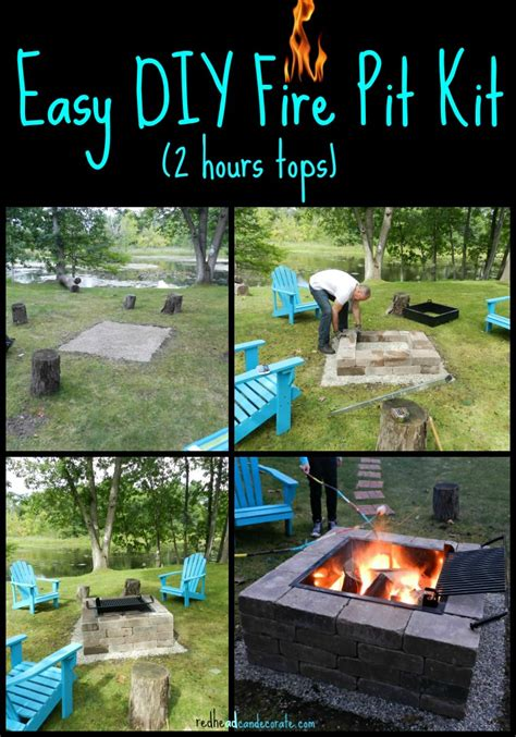 easy diy pit with grill stay warm and cozy with these 35 diy pit tutorials
