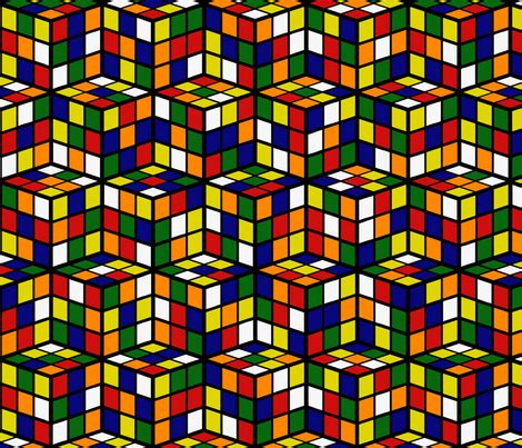 pattern for rubik s triangle rubik s cube pattern fabric by european skies on