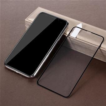 pel 237 cula de vidro temperado defesa s 243 lido preto para apple iphone xs max protetor de ecr 227 para