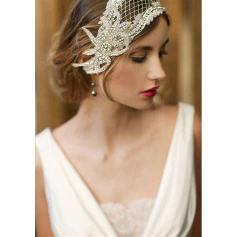 gatsby style 1920s wedding inspiration part 1 take a 1920s wedding headpiece bridal cap bridal hair piece