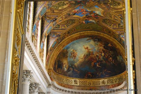 Versailles Ceiling by D G Hudson 21st Century Journal The Louvre And