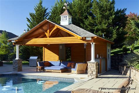 pool cabana plans custom pool house plans ideas pool cabanas in new holland pa homestead structures tiny