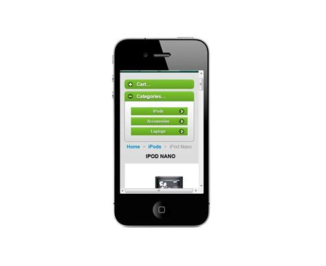prestashop mobile pmobile prestashop template for movile devices