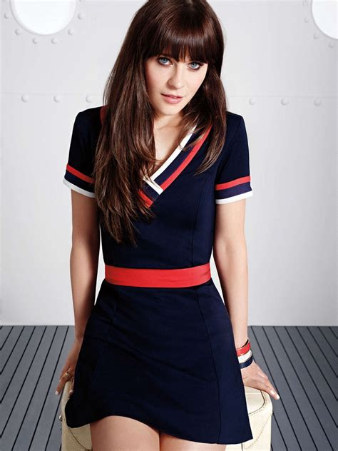 Hair Dress 1 zooey deschanel photoshoot for hilfiger 2014 collection by smith