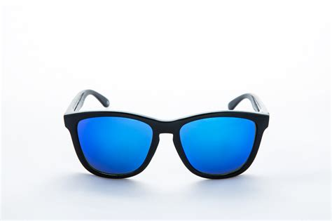fashion blue sunglasses