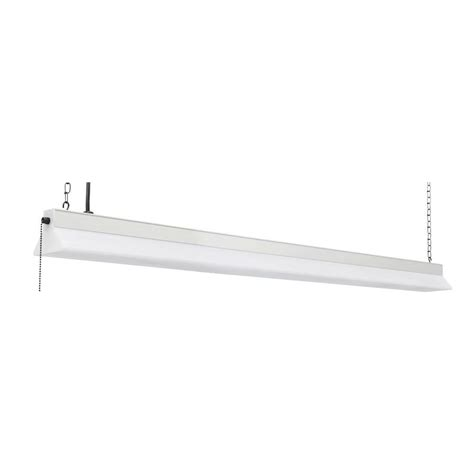 lithonia lighting 120 volt 4 ft white led surface mount