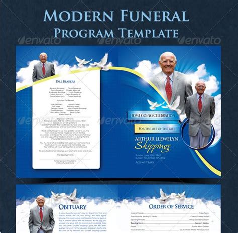 free funeral phlet template 12 best images about funeral program templates on
