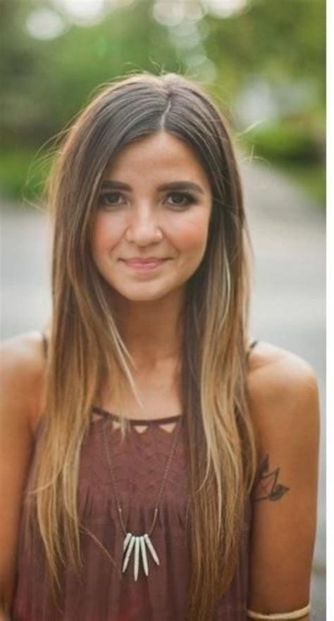 ombre hairstyles for long straight hair girls long straight ombre hair perfect for dark hair
