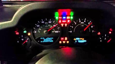1996 Jeep Grand Instrument Cluster Not Working Jeep Wrangler Jk Instrument Cluster Self Diagnostic Test