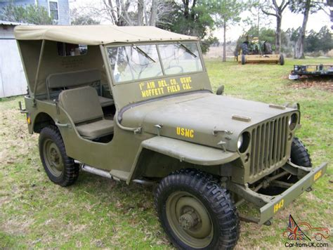 Willys Mb Jeep 1943 Willys Mb Jeep