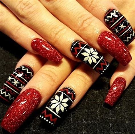 easy christmas nail art without tools top 15 beautiful nail art designs at home without tools