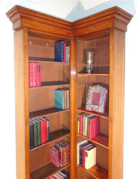 narrow corner bookcase narrow corner bookcase oak narrow corner bookcase 242172