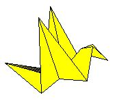 Origami Peace Crane Story - origami artist and freelance instructor in singapore 10 13 11