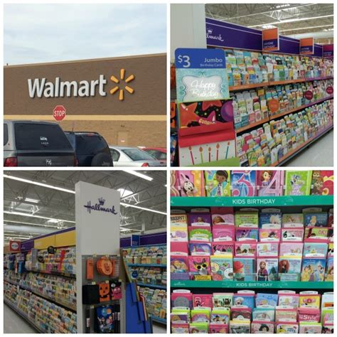 Walmart Gift Card Selection - hallmark birthday cards in poster size kidscards shop nepa mom