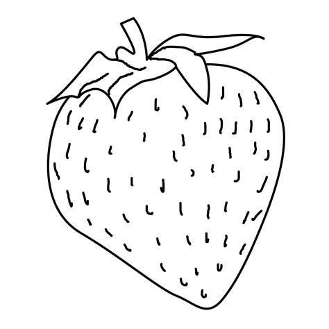 strawberry coloring page coloring pages eat and drink free downloads