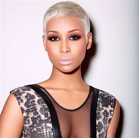 platinum short cut for a black women pixie haircut images short hairstyles 2017 2018 most
