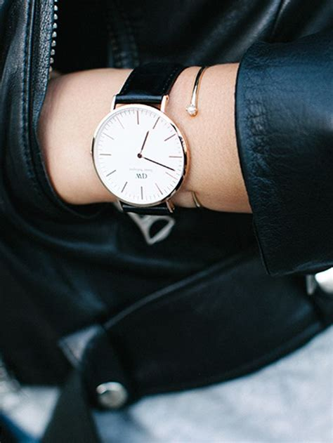 Daniel Wellington Green daniel wellington classic sheffield in gold