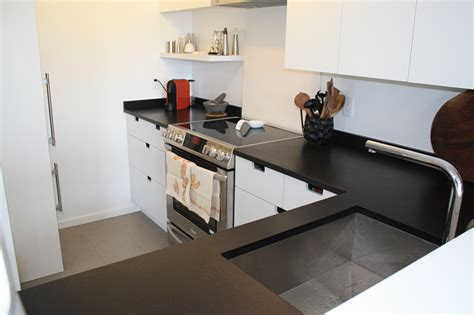 Affordable Kitchen Countertop Ideas by Honed Black Quartz Countertops Honed Black Quartz