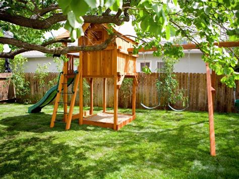 Backyard Playground Designs for Kids This For All